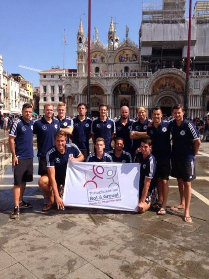 Beachsoccer Nationalmannschaft in Venedig