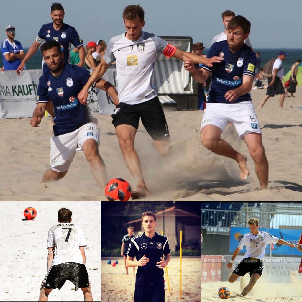 Kapitän DFB Beachsoccer Nationalmannschaft bei uns