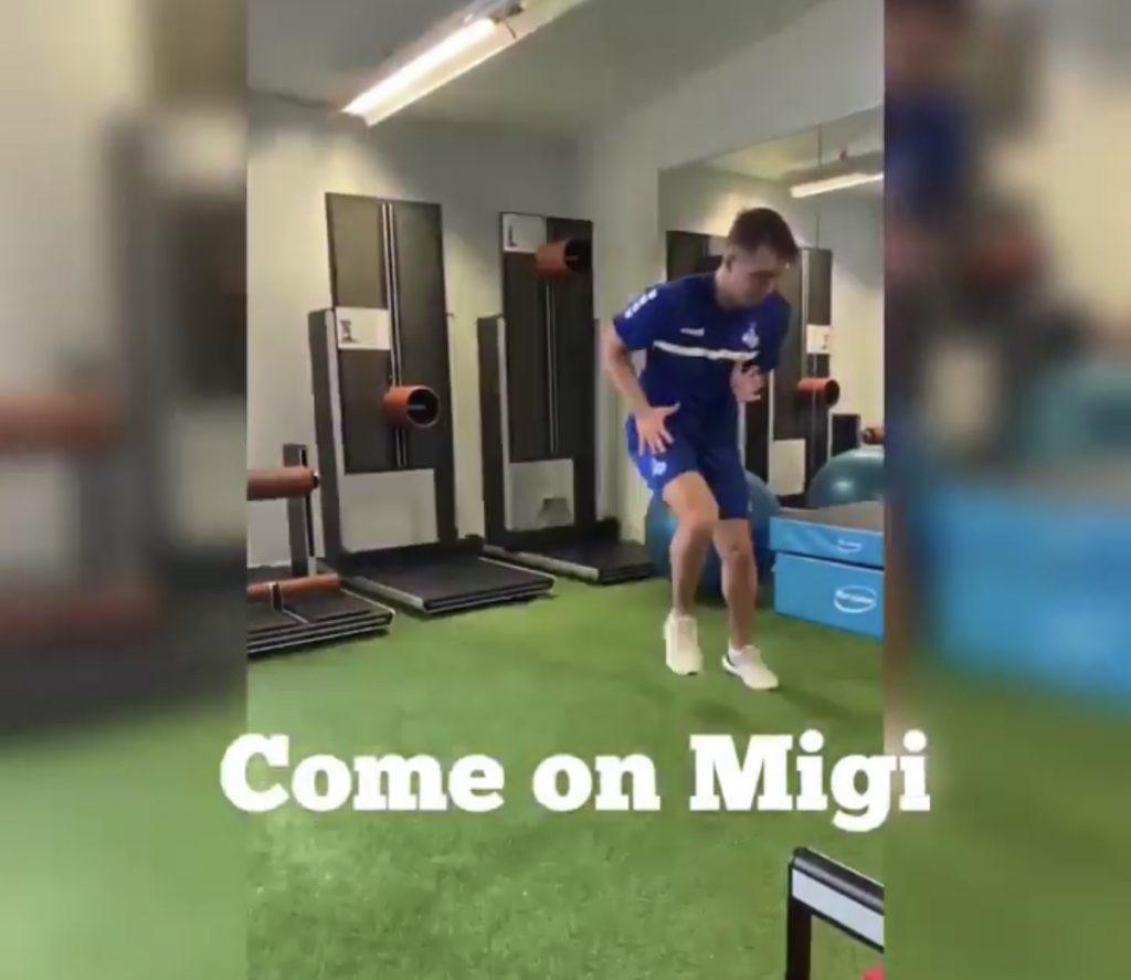 MSV Duisburg Spieler zur Reha
