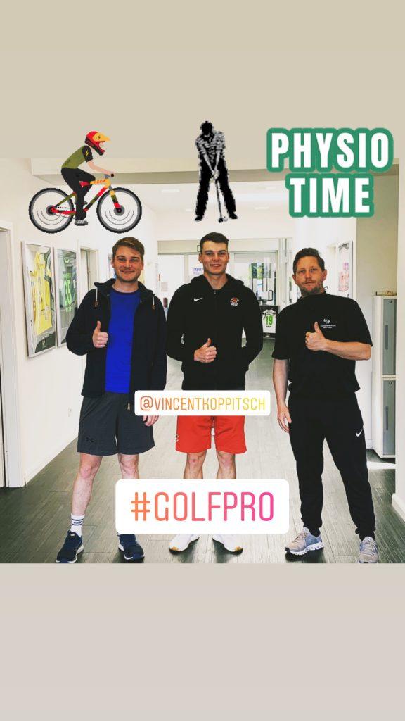 Golfprofi aus den USA 🇺🇸